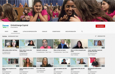62 equips presenten el seu treball a TechnovationGirls global